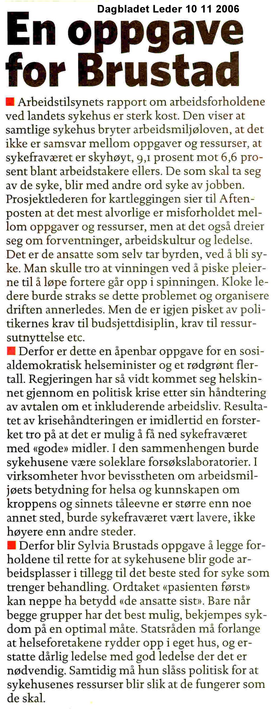 DagbladetLeder101106OppgaveForBrustad.jpg