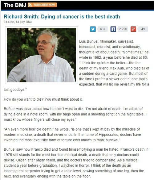 RSmith BMJ31122014 Dying of cancer.jpg